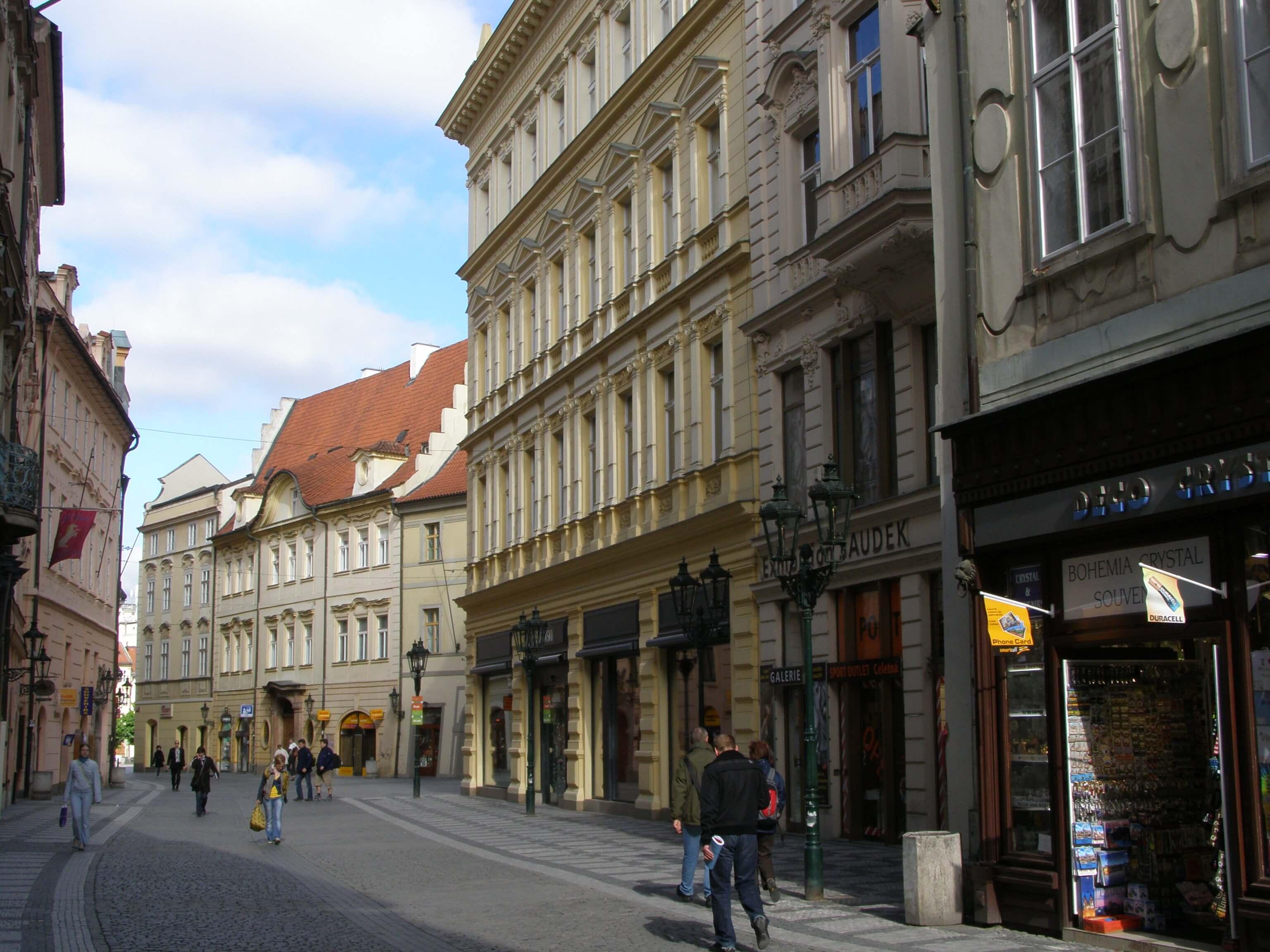 улица Целетна, Прага