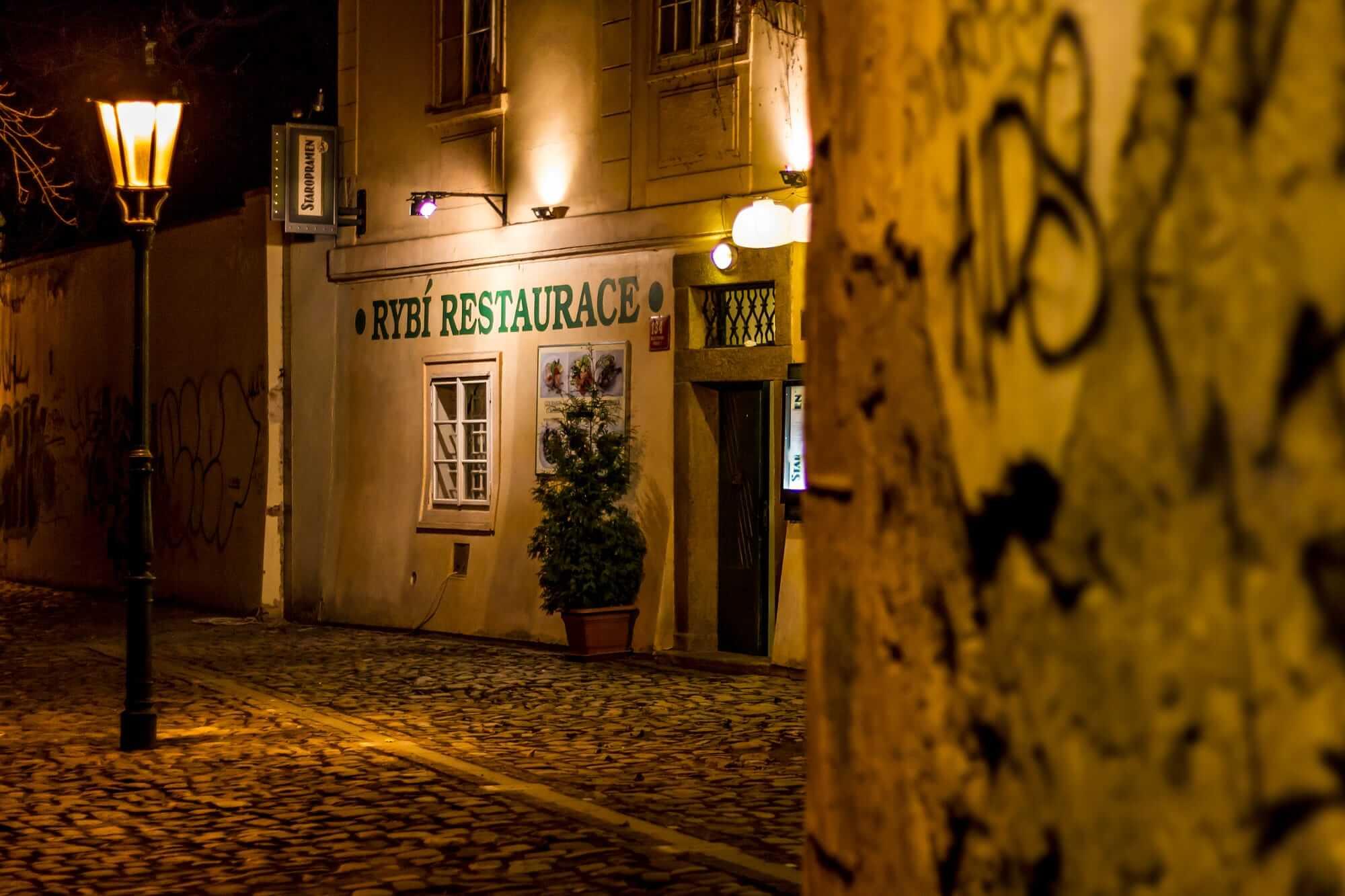 Рестораны в Праге